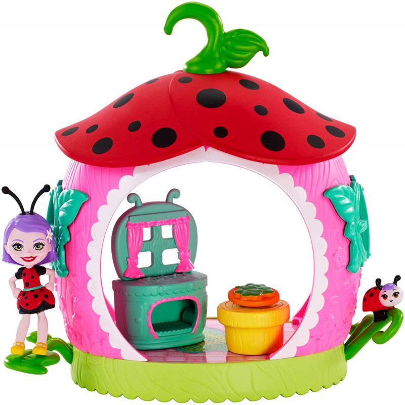 Enchantimals Domek Ladelii Ladybug I Biedronki Vine