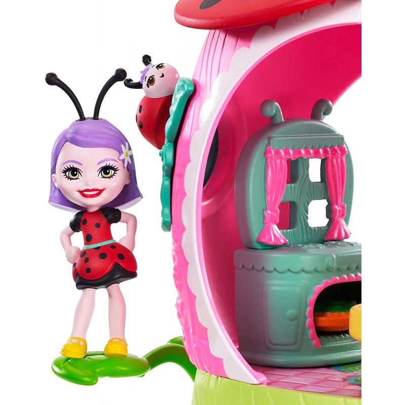 Enchantimals Domek Ladelii Ladybug I Biedronki Vine