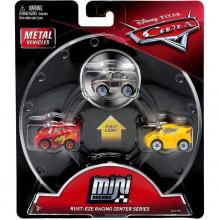 Cars Mini Racers - Zestaw trzech mini autek - Zygzak, Cruz i Sterling GBC72