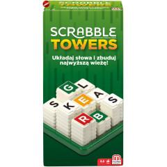Mattel - Scrabble Towers - Gra słowna GDJ16