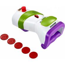 Toy Story 4 - Laserowa wyrzutnia dysków z dźwiękami - Buzz Astral GDP85