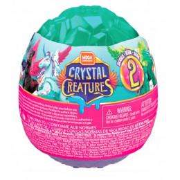 Mega Construx - Crystal Creatures w jajku ze slimem - seria 2 - GLK07