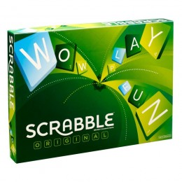 Gra Mattel Y9592 Scrabble Orginal - Wersja UK