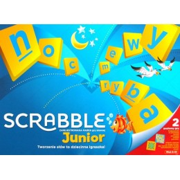 Gra Mattel Y9735 Scrabble Junior