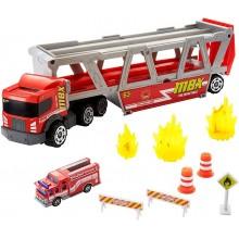 Matchbox – Transporter - Wóz strażacki GWM23