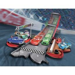 Cars. Zygzak Rozkładany tor wyścigowy DVF38