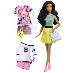 Barbie Fashionistas Modna lalka + ubranka nr 34 DTD97