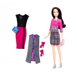 Barbie Fashionistas Modna lalka + ubranka nr 36 DTD99