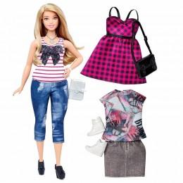 Barbie Fashionistas Modna lalka + ubranka nr 37 DTF00