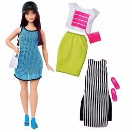 Barbie Fashionistas Modna lalka + ubranka nr 38 DTF01