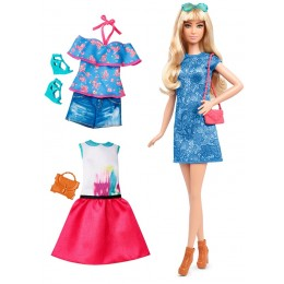 Barbie Fashionistas Modna lalka + ubranka nr 43 DTF06