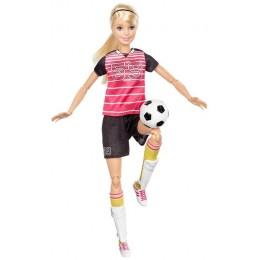 Barbie Sportowa Lalka Piłkarka blond DVF69