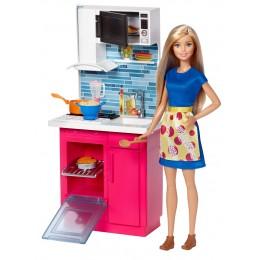 Barbie Lalka z kuchnią DVX54