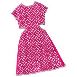 Barbie Modne sukienki kolor różowy DWG08
