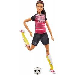 Barbie Sportowa Lalka Piłkarka FCX82