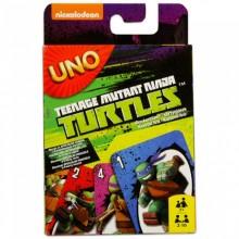Mattel CJM71 Gra Karciana UNO - Turtles