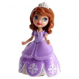 Jej Wysokość Zosia, Lalka, Figurka Księżniczka Zosia liliowa DGB23