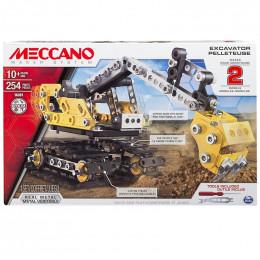 Meccano 16301 Zestaw konstrukcyjny 2w1 - Koparka i spychacz