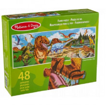 Melissa & Doug Puzzle podłogowe Świat dinozaurów - 48 elementów 10442