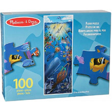 Melissa & Doug Puzzle podłogowe Podwodny świat - 100 elementów 10443