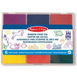 Melissa & Doug 11637 Zmywalne Tusze do Stempli 6 kolorów