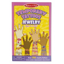 Melissa & Doug 12194 Zestaw 132 Tatuaży Biżuteria