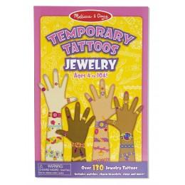 Melissa & Doug Zestaw 132 Tatuaży Biżuteria 12194