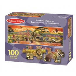 Melissa & Doug 12873 Puzzle 100 Elementów Safari