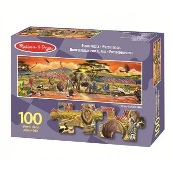 Melissa & Doug Puzzle 100 Elementów Safari 12873