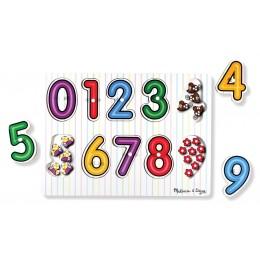 Melissa & Doug 13273 Układanka Puzzle Cyferki