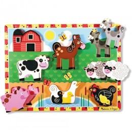 Melissa & Doug 13723 Ukladanka Puzzle Zwierzątka Farma