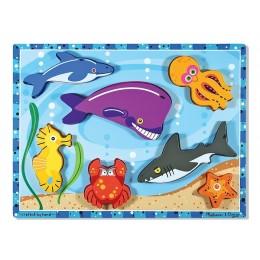 Melissa & Doug 13728 Układanka Puzzle Zwierzątka Morskie