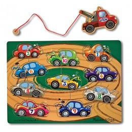 Melissa & Doug Gra magnetyczna holowanie autek 13777