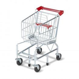 Melissa & Doug - Metalowy wózek sklepowy - 14071