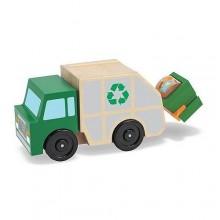 Melissa & Doug 14549 Samochód Drewniana Śmieciarka