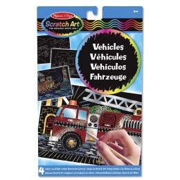 Melissa & Doug Scratch Art - Wydrapywanka Pojazdy 15898