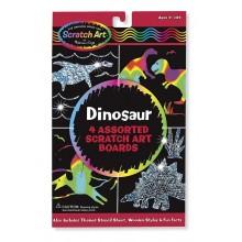 Melissa & Doug Zdrapki Holograficzne - Dinozaury 15917