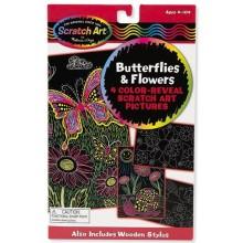 Melissa & Doug Zdrapki tęczowe - Motyle i Kwiaty 15956