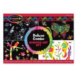 Melissa & Doug 15981 Zdrapki Holograficzne - Duży zestaw Deluxe
