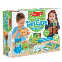 Melissa & Doug - Opieka nad psem i kotem - Zestaw do zabawy 18551