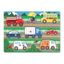 Melissa & Doug 19051 Układanka Puzzle Pojazdy
