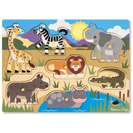 Melissa & Doug 19054 Puzzle Zwierzęta Safari