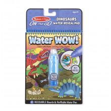 Melissa & Doug - Wodna kolorowanka Water Wow! - Dinozaury 19315