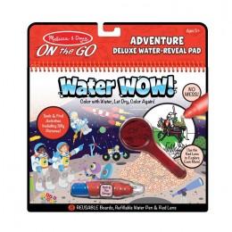 Melissa & Doug – Wodna kolorowanka Water Wow! Z lupą – Przygody – 40172