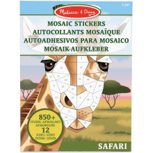 Melissa & Doug - Mozaiki do wyklejenia - Safari 40160