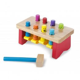 Zabawki drewniane dla najmłodszych