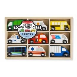 Melissa & Doug 13170 - Zestaw pojazdów miejskich
