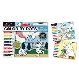 Melissa & Doug 14006 - Kolorowanka z kropkami