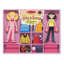 Melissa & Doug Magnetyczna ubieranka lalki 14940