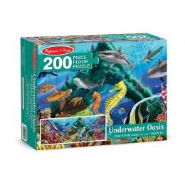 Melissa & Dług Puzzle podłogowe - podwodne życie 18907